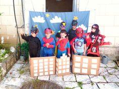 Super héros party piRouette cacaHuète: juillet 2012