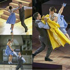 Week 6 Andy & Allison -Jazz 40/40 #teamandison #dwts #dancingwiththestars