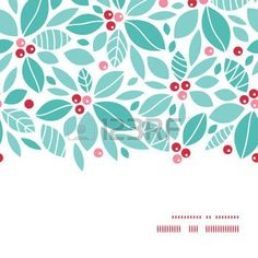 32804095-vector-christmas-holly-berries-horizontal-frame-seamless-pattern-background.jpg (350×350):