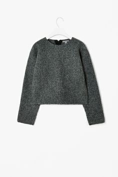 Boiled wool jumper