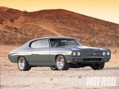 1970 Chevrolet Chevelle Ss Front Right Photo 1