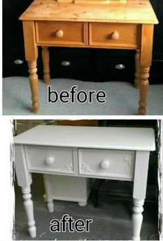Check out this gorgeous transformation using some of our Chic Mouldings! Rachel used some of our Daisy Corners to bring a touch of Shabby Chis to this pine console table! What a transformation! Lots of ideas & how to tips available on our website, along with 100's of designs of Shabby Chic Furniture  Mouldings & Appliques. www.chicmouldings.com Rachels Facebook page can be found here: https://www.facebook.com/RachelsShabbyChic