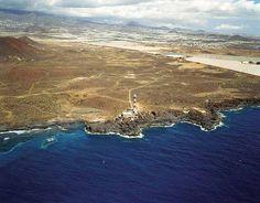 Faro de la Punta de Rasca  Foto aérea, Puertos de Tenerife.org