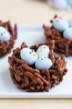 Chocolate Egg Nest Treatscountryliving