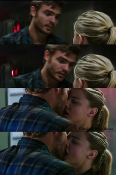 Evan & Cassie kiss | one of my favorite parts!