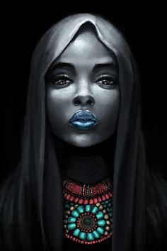 """""""African Beauty - (rétrogirl) """""""