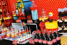 Superhero themed birthday party with Such Cute Ideas via kara's party ideas! full of decorating ideas, dessert, cake, cupcakes, favors and more! KarasPartyIdeas.com #superhero #superheroparty #superherocake #partydecor #partyplanning (3)