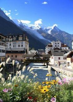 Chamonix and Mont Blanc   www.facebook.com/loveswish