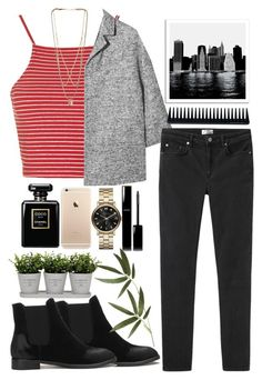 """#394"" by yameilama ❤ liked on Polyvore featuring мода, Topshop, Dolce&Gabbana, Acne Studios, Universal Lighting and Decor, GHD, Chanel, Torre & Tagus, Marc by Marc Jacobs и Crate and Barrel"