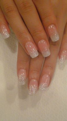 Beautiful Bridal nails