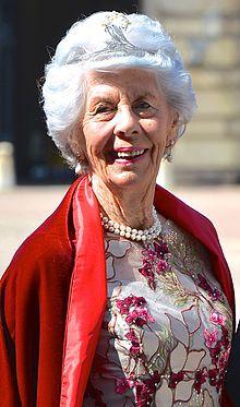 Countess Gunnila af Wisborg, wearing her Dragonfly Bandeu tiara at princess…