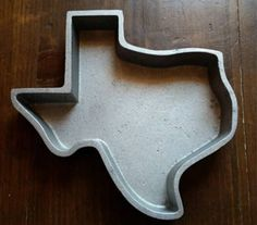 Texas Decor - Texas-Shaped Accessories - Good Housekeeping - A Texas-shaped baking pan.