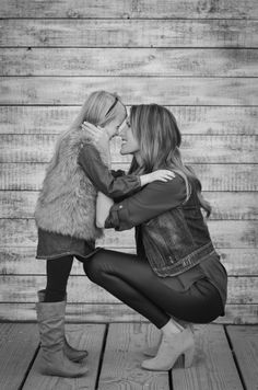 Mother Daughter pose <3 YTW photography