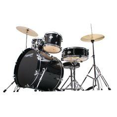 Mapex Tornado 20-Inch Fusion Drum Kit, Black. #mapex #drumkit