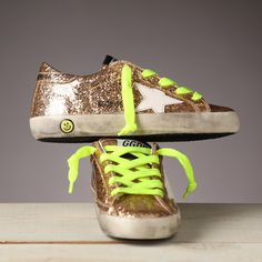 Boys want to shine too! Golden Goose for boys!