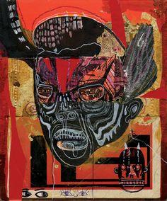 Black Ghost - Jon Todd Fine Art  - Outsider