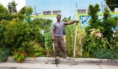 """Growing your own food is like printing your own money.""  Meet Ron Finley, the man who has been called the, ""Guerilla Gardener of South Central LA."" When Ron Finley saw a problem with limited access to fresh food in his community he also saw a solution in the form of empty lots. 