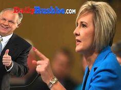 Rush Limbaugh Praises Becky Gerritson: So, Right On The Money!
