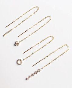 diamond x gold earrings