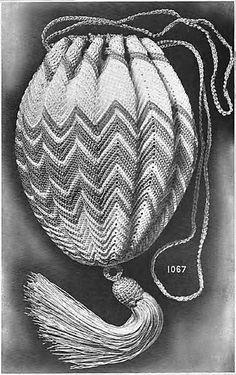 Ravelry: Bag No. 1067 pattern by Royal Society
