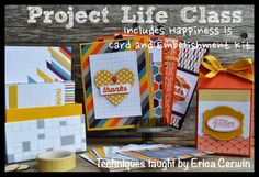 Pink Buckaroo Designs: Project Life by Stampin' Up: Happiness Is http://pinkbuckaroodesigns.blogspot.com/2014/06/project-life-by-stampin-up-happiness-is.html