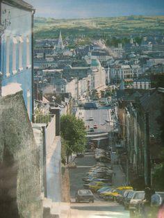 Cork city from Patrick's Hill Fall Vacations, Cork City, Irish Landscape, West Cork, Ireland Homes, County Cork, Cork Ireland, Little Island, Luck Of The Irish