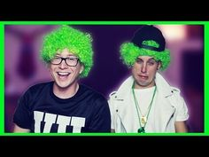 I love these two when they get together <3 ♧♧♧ ▶ Drunk St. Patrick's Day Challenge (ft. Sawyer Hartman)   Tyler Oakley - YouTube