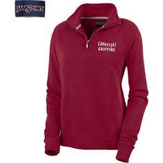 Product: Gwynedd Mercy University Griffins Women's 1/4 Zip Chelsea Fleece Pullover