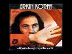 Erkin Koray - Hayat Bir Teselli (1976) Lp Cover, Cover Art, Photography Exhibition, Rock Legends, Music Songs, Culture, Album, My Love, Folk