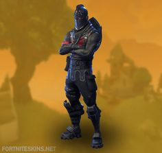 Black Knight Outfit in Fortnite Battle Royale.