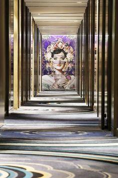 Muscat, Stairways, Hotel Hallway, Hallways, Design, Stairs, Staircases, Foyers, Hotel Corridor