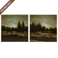 Normandy Canvas Print, Set of 2  Sku:106281 from Kirkland's  Regularly159.99; on sale for $149.99
