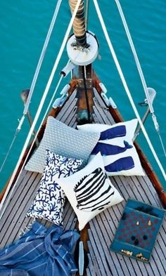 Top Luxury Blue Cruise Charters with Boat & Yacht in Italy and France on Gulet Victoria & Alissa, come live the dream & make memories in Sardinia & Corsica. Whale Pillow, Fish Pillow, The Beach, Ocean Beach, Yacht Design, Sail Away, Sea World, Coastal Living, Belle Photo