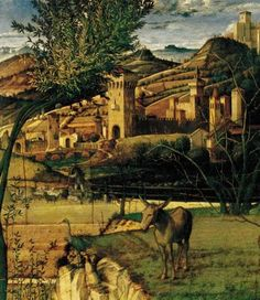 Giovanni Bellini and St Francis in the Desert