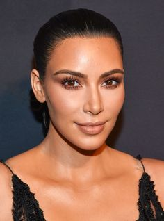 This Is Why Kim Kardashian's Makeup Always Looks So Good #refinery29  http://www.refinery29.com/2016/09/123971/kim-kardashian-app-makeup-routine