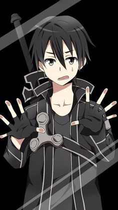 Kazutooo Online Art Kirito Sao Kirito Kiri A Anime Lock Screen Wallpapers Anime