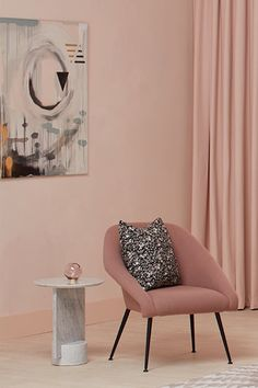 By using pink throughout the scheme and choosing a variety of textures, prints and fabric layers to elevate the space, they have created a look that's beautiful, singular and precise Floor To Ceiling Curtains, Interior Architecture, Interior Design, Wall Decor Pictures, Modern Rustic Interiors, Home Decor Bedroom, Minimalism, Beautiful, Bedrooms