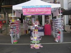 Craft Booth Display Ideas | Craft fair display ideas | Craft Fair Display Booth
