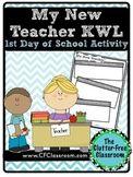 Teacher KWL {BACK TO SCHOOL FREEBIE printable}
