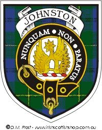 JOHNSTON Clan Crest Badge CB02 by celticstudio on Etsy ...