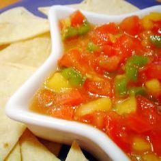 Avocado, Tomato and Mango Salsa Allrecipes.com
