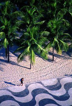"Copacabana - Rio de Janeiro, Brazil .................... #GlobeTripper® | https://www.globe-tripper.com | ""Home-made Hospitality"" | http://globe-tripper.tumblr.com/"