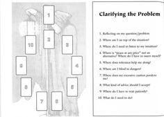 Clarifying the Problem - Tarot Spread