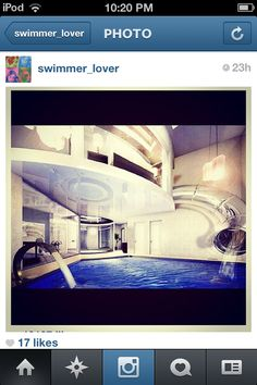 Water slide from bed
