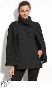 Tahari Cape Coat