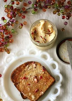 A Tasty Recipe: Cranberry Butter