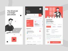 Mobile Ui Design, App Ui Design, User Interface Design, Web Design, Website Design Layout, Health App, Website Design Inspiration, Business Website, Business Design