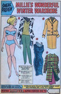 Millie's Wonderful Winter Wardrobe
