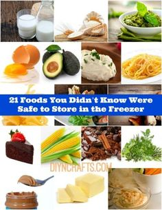 21 Foods You Didn't Know Were Safe to Store in the Freezer