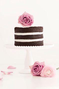 Naked Chocolate Cake #elegant #birthday #celebration